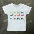 T-shirt Dachshund Summer